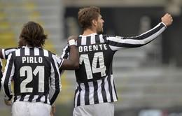 """Cagliari 1-4 Juventus: Llorente lập cú đúp, """"Lão bà"""" thắng đậm trên sân khách (VIDEO)"""