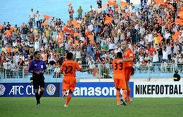 V.League 2014: SHB Đà Nẵng đè bẹp ĐTLA, Thanh Hoá chia điểm V.Hải Phòng