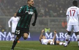 Sassuolo 4-3 AC Milan: Đêm diễn của kẻ vô danh Berardi (VIDEO)