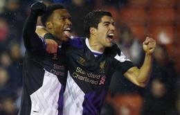 Stoke 3-5 Liverpool: Cuộc rượt đuổi điên rồ (VIDEO)