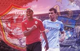 """Manchester City - Cardiff: Phục thù người cũ """"Quỷ đỏ"""""""
