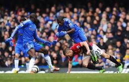 "23h, K+1, Chelsea - Manchester United: Stamford Bridge vùi xác ""Quỷ"""