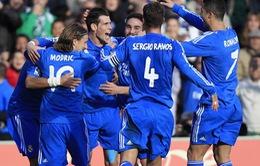 Real Betis 0-5 Real Madrid: Hàng công chói sáng (VIDEO)