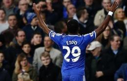 """Chelsea 3-1 Manchester United: Eto'o vùi xác """"Quỷ"""" bằng cú hat-trick"""