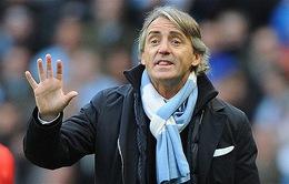 """Man City thi đấu ấn tượng, Mancini muốn """"cướp công"""" Pellegrini"""