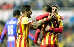 Barcelona - Levante: Chiến thắng để khẳng định (4h00 ngày 30/1, K+NS)