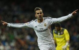 """Real 1-0 Espanyol: """"Kền kền"""" đặt vé vào bán kết (VIDEO)"""