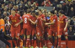 """Liverpool 4-0 Everton: """"Lữ đoàn Đỏ"""" vùi dập """"hàng xóm"""" (VIDEO)"""