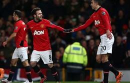 Man Utd 2-0 Cardiff: Hiệu ứng Juan Mata (VIDEO)