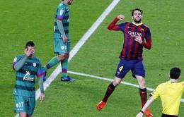 Barcelona 5-1 Levante: Đại tiệc bàn thắng ở Camp Nou (VIDEO)