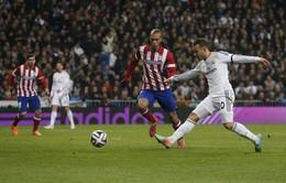 """Real 3-0 Atletico: Đại thắng, """"Kền kền"""" đặt một chận vào chung kết (VIDEO)"""