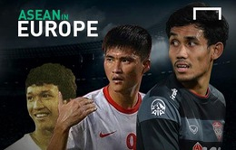 10 cầu thủ tiêu biểu của bóng đá Đông Nam Á từng thi đấu tại châu Âu