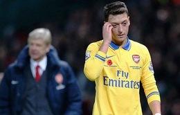 Điểm 3 cho Ozil trong thảm bại của Arsenal trước Liverpool