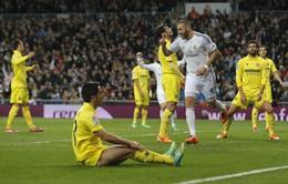 Real Madrid 4-2 Villarreal: Không Ronaldo vẫn thắng (VIDEO)