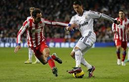 Atletico - Real: Cuộc chiến vì danh dự (3h00 ngày 12/2, K+NS)