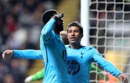 Newcastle 0-4 Tottenham: Đại thắng, Spurs bám sát Liverpool (VIDEO)