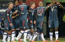 Bayern hủy diệt Hamburg ở Cúp Quốc gia (VIDEO)