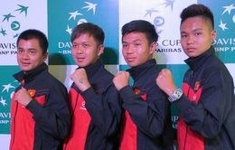 Lịch thi đấu chính thức Davis Cup nhóm 2 khu vực châu Á - Thái Bình Dương