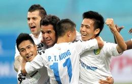 Con số trước vòng 3 V-League 2014: HN T&T nối dài chuỗi trận toàn thắng?