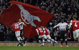 """Arsenal 2-1 Liverpool: """"Pháo thủ"""" đòi nợ (VIDEO)"""