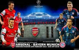 Arsenal - Bayern: 5 điểm nóng quyết định thành bại