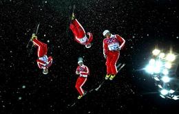 Olympic Sochi 2014: Thót tim với môn trượt tuyết nhào lộn tự do trên không dành cho nam