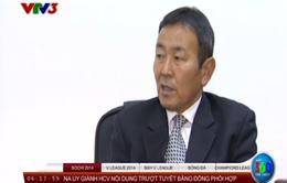 V.League 2014: Đi tìm kế hoạch của tân trưởng ban, Tanaka Koji