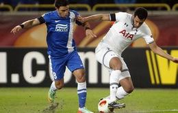 Tổng hợp Europa League: Tottenham thua sát nút trước Dnipro