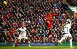 Liverpool 4-3 Swansea: Đại tiệc bàn thắng ở Anfield (VIDEO)