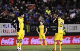 Osasuna 3-0 Atletico: Học Barca, Atletico thảm bại (VIDEO)