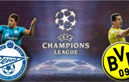 00h00 ngày 26/02, Zenit - Dortmund: Chinh phục thiên nhiên, chinh phục Champions League