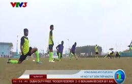 AFC Cup 2014: Hà Nội T&T trước trận gặp Maziya