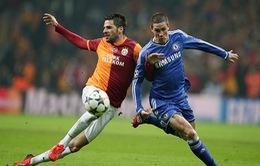 Chùm ảnh: Chelsea nhọc nhằn giành điểm trước Galatasaray