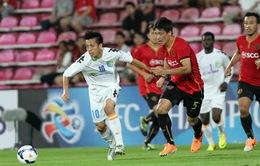 Hà Nội T&T tan giấc mơ AFC Champions League