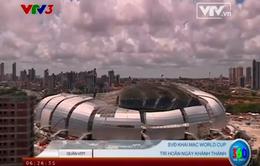 World Cup 2014: Nỗi lo chậm tiến độ từ các SVĐ