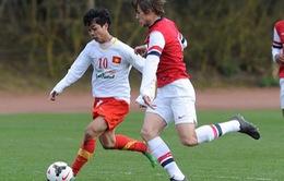 Nhìn lại chiến thắng xuất sắc của U19 Việt Nam trước U19 Arsenal