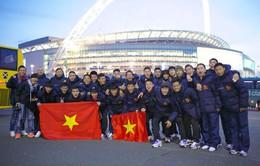 U19 Việt Nam: Những hình ảnh mới nhất trên đất Anh