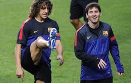 """Messi: """"Barca sẽ rất nhớ Puyol"""""""