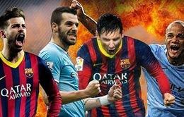 Lịch tường thuật trực tiếp Champions League ngày 12/3