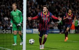 2h45 ngày 13/3, VTV3 Trực tiếp Barcelona - Man City