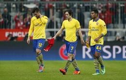 Kết quả Champions League sáng 12/3: Arsenal, Milan bị loại