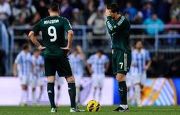 02h00 ngày 16/3, K+1 Trực tiếp Malaga vs Real Madrid