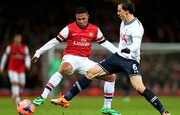 "23h00, K+1 Trực tiếp Tottenham - Arsenal: ""Pháo"" oanh tạc White Hart Lane"