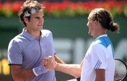 Indian Wells 2014: Federer hẹn hò Nole ở chung kết