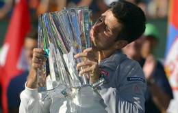 Indian Wells 2014: Hạ Federer, Djokovic lên ngôi vô địch