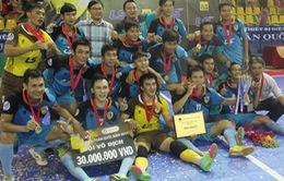 Futsal nam toàn quốc 2014 và những chuyện chưa kể
