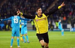 2h45 ngày 20/3, K+PM Trực tiếp Dortmund - Zenit