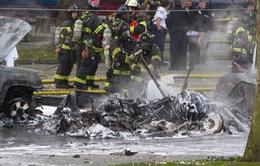 """Hiện trường trực thăng Mỹ rơi: Bốc cháy như """"quả cầu lửa"""""""
