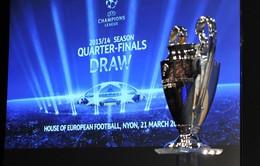 Bốc thăm tứ kết Champions League: M.U đụng Bayern, Real gặp lại Dortmund