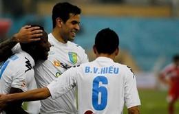 """V.League vòng 9: ĐKVĐ ngược dòng trước """"hiện tượng"""" Than Quảng Ninh"""